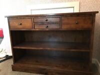 Bookcase / side board / console table / solid wood