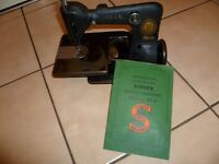 Antique Singer 82-4 Sewing Machine Industrial Manufacturing Machine CHAINSTITCH
