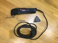 Bosch Multi tool GOP250CE 240V Used. VGC. With New Blade, Sanding attachment and Key