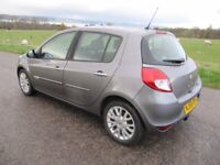 Renault Clio Dynamique 1.5 DCi 59 plate 65,000 FSH ~ ONLY £30 A YEAR ROAD TAX ~ DAB Bluetooth RADIO