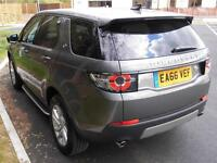 Land Rover Discovery Sport TD4 SE TECH (grey) 2016-10-31