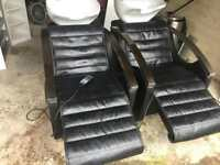 Hairdresser/barber automatic massage chairs