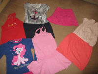 bundle of girls clothes 5-6 years, 110-116cm. bargain £1 per item, 13 items