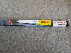 New in box Bosh Front and Rear windscreen wipers