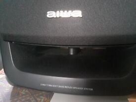 Aiwa retro loudspeakers