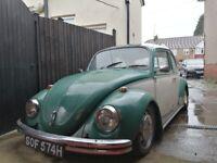 1969 VW beetle classic