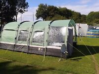 Hi Gear Corado 4 Person Tent With Extension Canopy and Extras