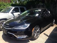 2015 Chrysler 200 C AWD/8.4 NAVIGATION/LEATHER/PANORAMIC SUNROOF