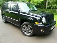 2009 JEEP PATRIOT 2.0 CRD LIMITED EDITION*59'REG*TOP SPEC*LEATHERS*H/SEATS*MINT CONDITION*#4X4#SUV