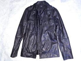 Boys leather jacket.