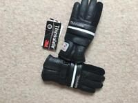 Thinlsulate Leather gloves size small