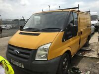 Ford transit spare parts 2.2 diesel front wheel drive 2007 year