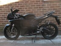 motorhispania rx125 running bike very nice motorbike