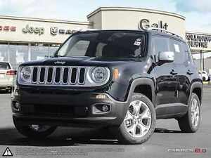 2016 Jeep Renegade LIMITED   4X4   X COMPANY DEMO   LEATHER  