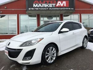 2011 Mazda MAZDA3 SPORT Leather, Push to Start, Navi, Sunroof, A