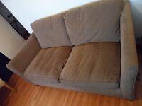 Comfortable 2/3 seater Habitat sofa in good condition £150 ONO