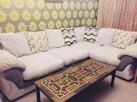 large corne sofa