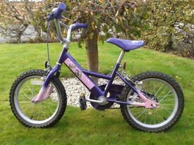 "Girls Bike – Brats Doll Brand (16"" Wheel) in great working order."