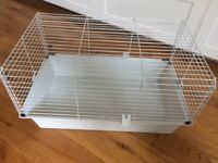 Small indoor rabbit or guinea pig cage
