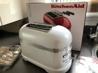 New KitchenAid artisan 2 slice Frosted Pearl auto Toaster