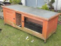 Hutch for rabbit or guinea pigs