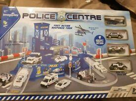Brand new childrens unisex toy police centr