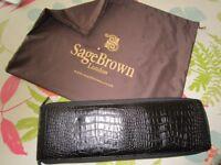 SageBrown of Mayfair Travellers' Tie Case