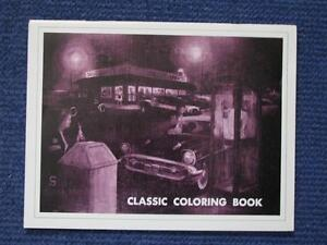1955 1956 1957 Chevrolet Coloring Book.