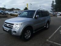2007 07 MITSUBISHI SHOGUN 3.2 GLX EQUIPPE LWB DI-D 5D 160 BHP **** GUARANTEED FINANCE ****