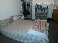 Unfurnished double room in quiet 2 bed flat