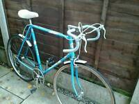 RETRO PUCH CLIPPER , ROAD BIKE, 700 ALLOY WHEELS,