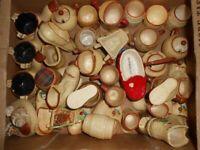 vintage 1950s x 40 manorware porcelain souvenirs collectibles