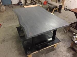 Rustic Live Edge Tables