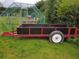 Ideal log trailer
