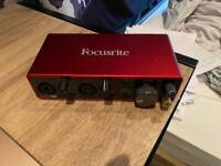 USB Audio interface - Focusrite Scarlett 2i2