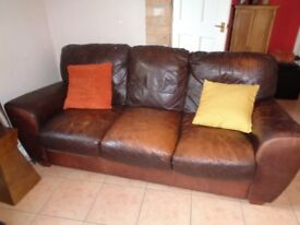 3 seater sofa for sale x2