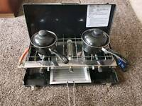 Hi gear gas cooker with stand
