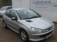 PEUGEOT 206 2.0 HDI SPORT 5DR (silver) 2005