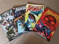 Uncanny Avengers set 2-5 Graphic novels marvel