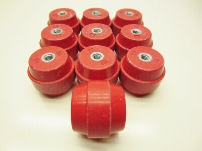 Standoff Insulator 1-12 X 1-34 Electrical High Voltage Mb Lot Of 10 New