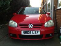 Golf 1.4 TSI sport , 3 Door, Red, MOT until 15/oct/2017