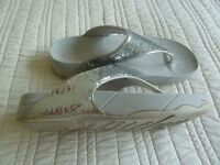 Fitflop Silver Glitterball style sandals