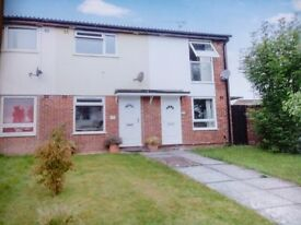 Taunton - modern 2 double bedroom house with gas c/h, garage and parking in favoured Comeytrowe