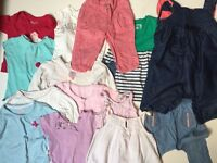 Baby Girl Clothes Bundle 6/12 Months £10 Ref.0148