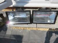 Two quartz heaters 1300 watt, brand new.