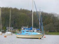 Seal 22 mark1 bermuda sloop sailing boat