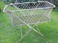 Victorian / Edwardian Metal Crib