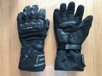 Brand New Richa Cold Protect Goretex Gloves Black Medium ♦ Motorcycle Gloves ♦ £100 RRP!