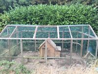 poultry protection pen