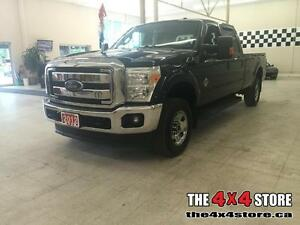 2012 Ford F-350 LARIAT CREW LEATHER LOADED 4X4 POWER STROKE DIES